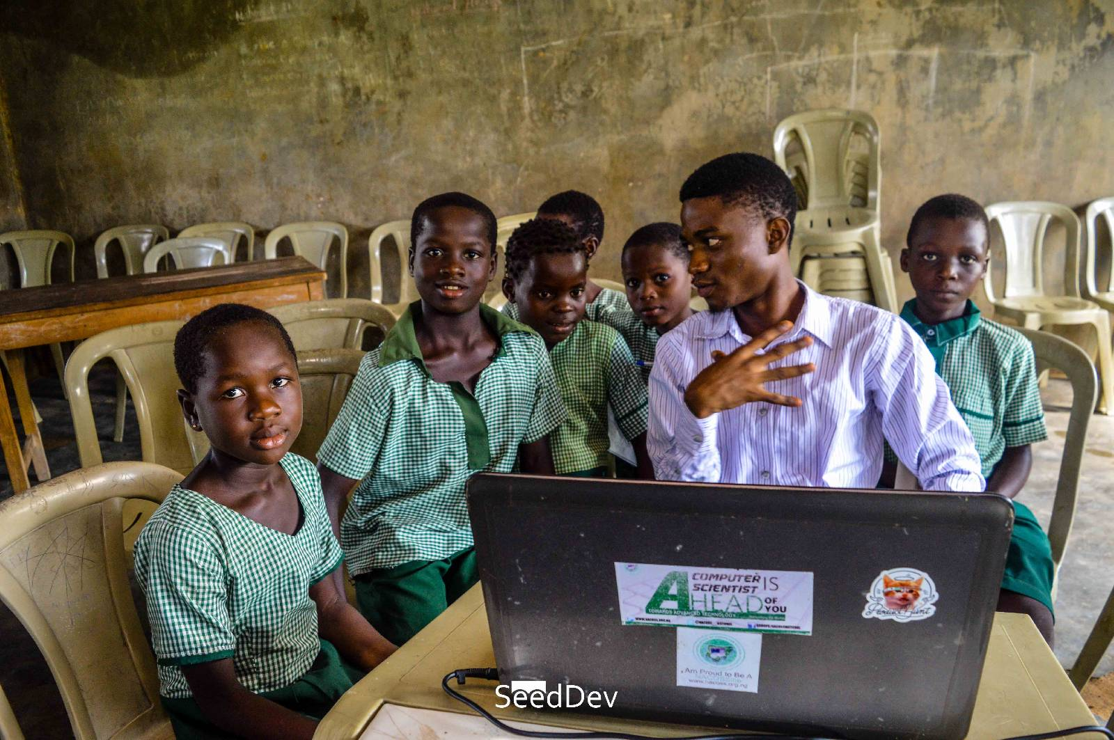 VISIT TO L.A PRIMARY SCHOOL IGBEKEBO