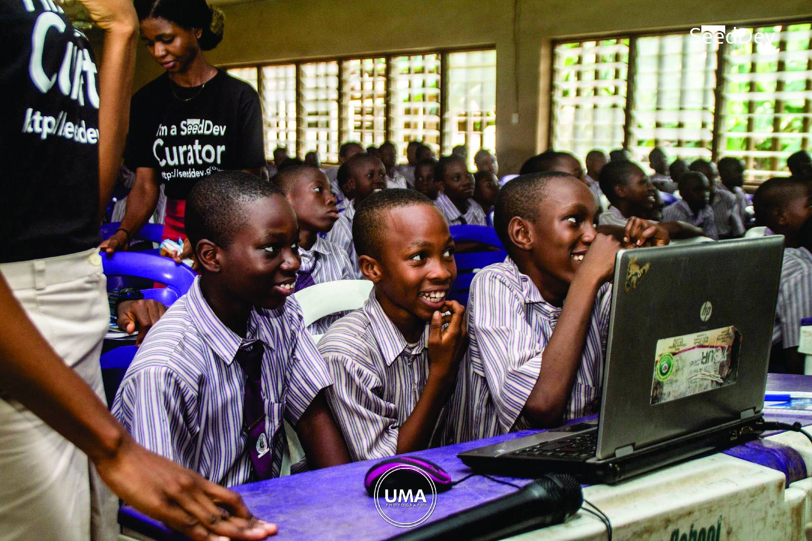 Hour of Code (2017) at FUTA Secondary School, Akure, Ondo State, Nigeria