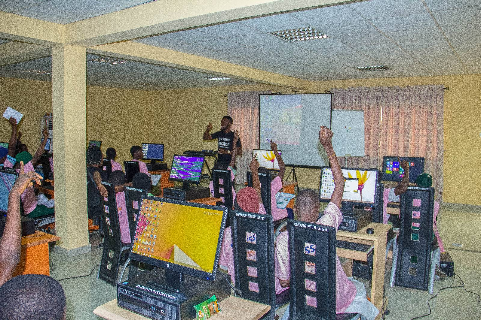 Week 2: Girl Child I.C.T Empowerment Initiative